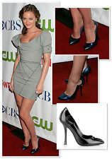 $550 SERGIO ROSSI Cut Out Patent Leather Pointy Marissa Pump Shoes US 8 EU 38