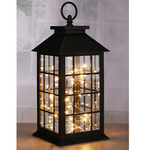 LED Laterne Windlicht Nachtlicht Deko Leuchte Lichterkette Lampe Dekoration