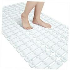 Original Bathtub Mat Non Slip, Bath Shower Tub Mats with 29 X 15.5 Inch White