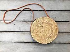 Bali Rattan Bag Classic Plain Weave - 20cm
