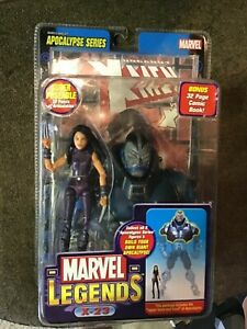TOYBIZ MARVEL LEGENDS X-23 FIGURE MOC BUILD APOCALYPSE VHTF X-MEN