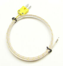K-Type Thermocouple Wire Sensor for Digital Thermometer Probe Fiber Glass PK-400