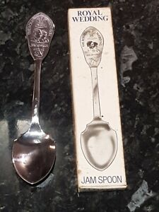 Vintage Jam Spoon Boxed The Royal Wedding July 29th 1981