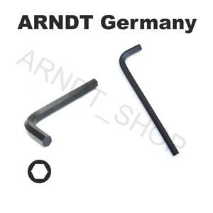 ARNDT GERMANY Hex Key Allen Key Black Regular or Long Hex Keys Hexagonal Keys