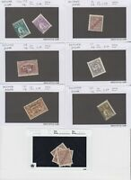PORTUGAL PORTUGUESE GUIANA 14 SALES CARDS COLLECTION LOT READY TO SELL