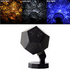 3 Color Romantic Astro Star Sky Laser Projector Cosmos Night Light Lamp Finest