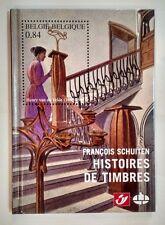 SCHUITEN ** HISTOIRES DE TIMBRES + 3 TIMBRES TL 2000 EX  **  EO NEUF CBBD