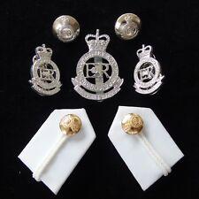 Royal Military Academy Sandhurst Cap/Collar Badges/Buttons & RMAS Gorgets