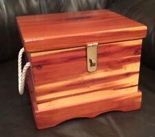 New Handmade Solid Cedar Wood Jewlery/Keepsakes Box