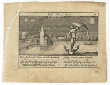 """Nürnberg/Schloss Unterbürg : """"Derretsburg Nü."""" : Kupferstich, um 1625"""