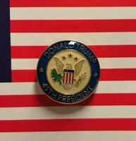 Donald Trump 45th President MAGA Round Lapel Hat Pin Tie Tac FAST USA SHIPPING