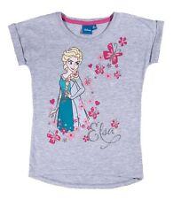 NUEVO Niñas Camiseta de manga corta top Frozen Reina Hielo 92 98 104 110 116 128