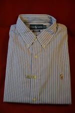 Ralph Lauren Polo Men's -Custom Fit-Excellent  Size  X Large 171/2-34/35 (CB-02)