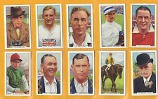 Sports Collectable Gallaher Cigarette Cards