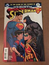 Superman #10 Rebirth 1st Supersons Batman Superboy Robin Patrick Gleason