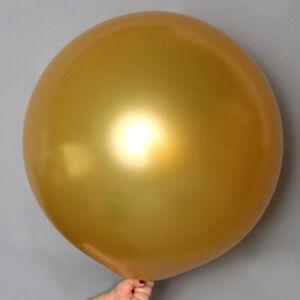 36'' Big Size Giant Balloon Latex Balloons Helium Wedding Birthday Party Decor