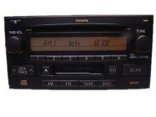Toyota Celica RAV4 Highlander Radio CD Player 861202B761 16844 16830 86120-2B760