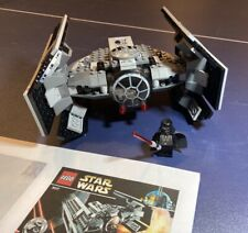 LEGO Star Wars Darth Vader's TIE Fighter (8017), 100% Complete with minifig
