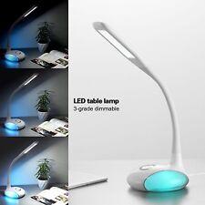6W LED Schreibtischlampe Tischlampe dimmbar Atmosphärenlampe Tisch-Leuchte weiß