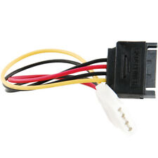 SATA Power Female to Molex Male Adapter Converter Cable, 6-Inch XBFOMAEK