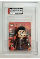 LEGO SDCC 2014 BARD THE BOWMAN (BLUE) MINI FIGURE AFA Graded 8.5 - HOBBIT LOTR