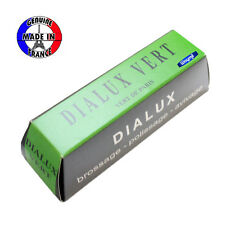 DIALUX GREEN POLISHING ROUGE COMPOUND VERT FOR CHROME & HARD METALS JEWELRY