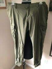 New listing Women's Prana Joggers Size 8 olive green Ankle Hiking