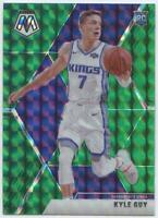 Kyle Guy 2019-20 Panini Mosaic Rookies Reactive Green Prizm RC Card #224