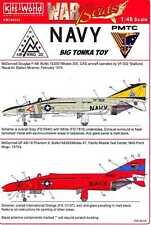Kits World Decals 1/48 MCDONNELL DOUGLAS F-4 PHANTOM II Part 2