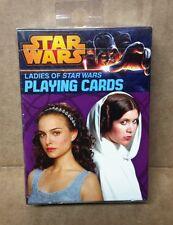 Star Wars Ladies of Star wars Playing Carda