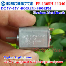Mabuchi FF-130SH-11340 Motor DC 5V-12V 5800RPM Toy Car 15mm*20mm Mini 130 Motor
