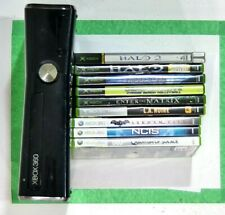 Xbox 360 S 250Gb Console Model #1439 W/ 1 Controllers, 9 Games +Built-in Games