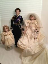 Lady Anne Dolls  Princess Diana, Charles And Flower Girl