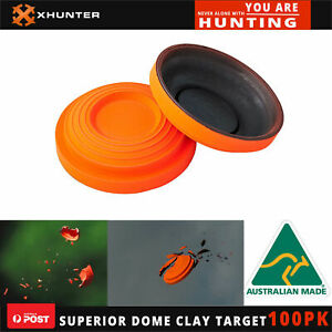 Superior Dome Clay Pigeon Target Australia Made Clay Targets Shooting 100 Pk