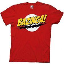Big Bang Theory Bazinga Red T-Shirt