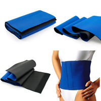 Waist Trimmer Exercise Wrap Belt Slimming Burn Fat Weight Loss Body Shaper Charm