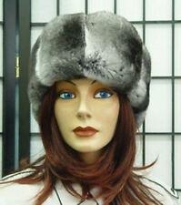 BRAND NEW CANADIAN RANCHED CHINCHILLA FUR HEADBAND HEAD WRAP WOMEN WOMAN SZ ALL