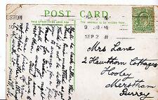 Genealogy Postcard - Family History - Lane - Hooley - Merstham - Surrey A1020