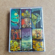 Iron Maiden Magnet Set OFFICIAL Collectors Item Set of 9 Mini Magnets Rock Gift