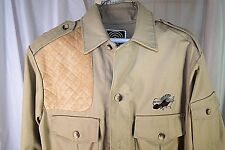 10X NWTF TURKEY HUNTING SAFARI BUSH SHOOTING KHAKI JACKET PADDEED SHOULDER