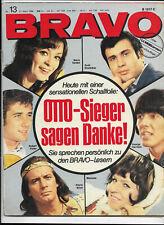 BRAVO Nr.13 vom 21.3.1966 Claudia Cardinale, Horst Buchholz, Sonny & Cher, Who
