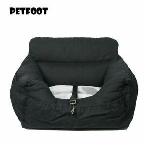 Dog Car Seat Carrier Booster Travel Large With Safety Belt Pet Foldable Basket