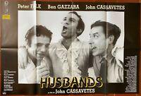 Plakat Husbands Ben Gazzara John Cassavetes Peter Falk 80x120cm