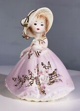 New ListingJosef Originals Lady In Lavender Purple Dress and White Cream Hat 1960's