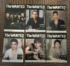 The Wanted (Full Set) Of Promo Postcards For Debut Album With Printed Signature!