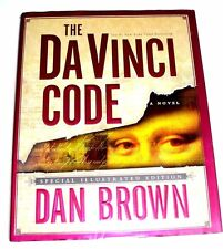 The Da Vinci Code by Dan Brown 2004 Hd/Dj Special Illustrated First Edition Book
