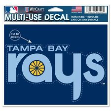 TAMPA BAY RAYS MACBOOK LAPTOP MULTI USE REUSABLE DECAL NEW WINCRAFT