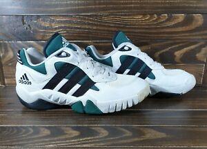Vintage Adidas Response Trainer 1996 Mens Sneackers Size Us 9 White Black Green