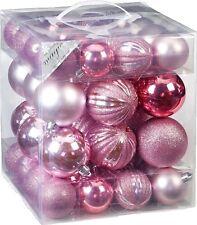 Christbaumkugeln Aubergine.Weihnachtskugeln Rosa Günstig Kaufen Ebay