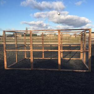 6 x 4 panels 2x2 16G Wire Chicken Rabbits Dogs Cats Birds Puppy Fox Proof